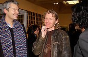 Grayson perry, In-A Gadda-Da-Vidda, Tate Gallery. 2 March 2004. ONE TIME USE ONLY - DO NOT ARCHIVE  © Copyright Photograph by Dafydd Jones 66 Stockwell Park Rd. London SW9 0DA Tel 020 7733 0108 www.dafjones.com