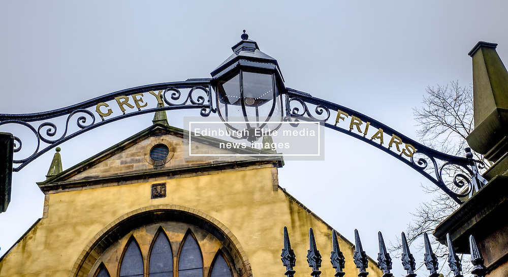 Grey Friars church and graveyard in Edinburgh, Scotland<br /> <br /> (c) Andrew Wilson | Edinburgh Elite media