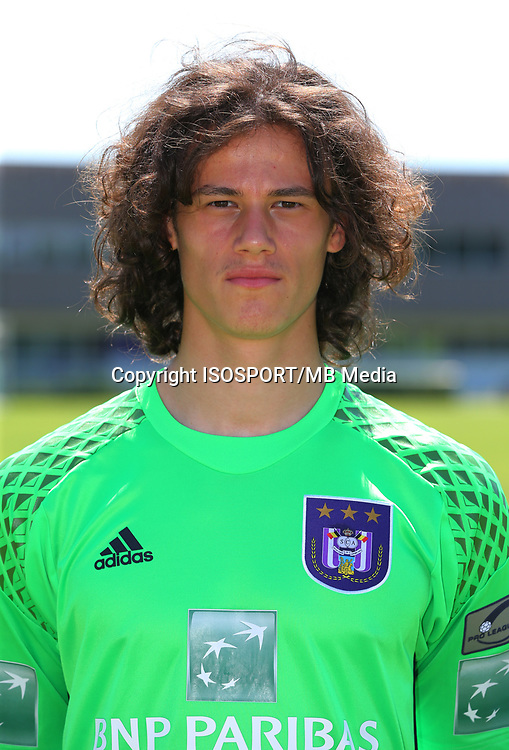 20160719 - Brussels , Belgium / PHOTOSHOOT RSC ANDERLECHT 2016-2017 / <br /> Mile SVILAR<br /> SOCCER / FOOTBALL / VOETBAL / PLOEGVOORSTELLING / TEAM PRESENTATION / PHOTO D'EQUIPE / PLOEGFOTO / TEAM PICTURE / FOTOSHOOT / RSCA / <br /> PICTURE BY VINCENT VAN DOORNICK /  ISOSPORT