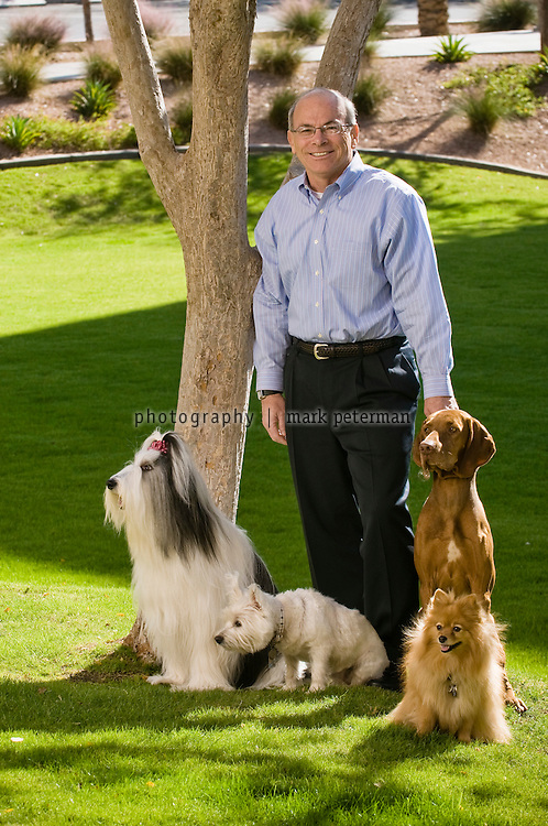 Robert Moran CEO of PetSmart on the campus and headquarters in Phoenix, Arizona.