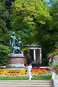 Kurpark, Baden bei Wien, Niederösterreich, Österreich .|.spa gardens, Baden, Niederösterreich, Austria..
