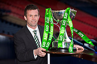 28/01/15<br /> HAMPDEN - GLASGOW <br /> Celtic Manager Ronny Deila looks ahead to his side's forthcoming Scottish League Cup Semi-Final clash against old firm rivals Ranger