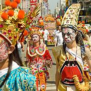 Matsu Festival Celebrations.Tainan, Taiwan-April 6th, 2008