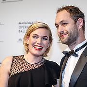 NLD//Amsterdam20160415 - Première 'Roméo et Juliette', Marlijn Weerdenburg en partner Paul Broers
