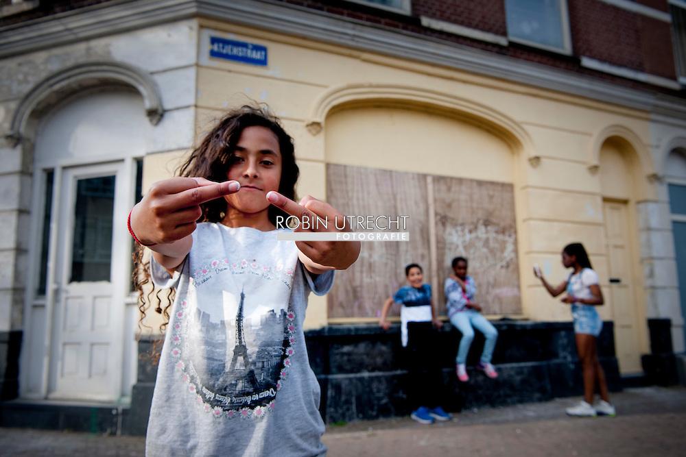 ROTTERDAM - Armoede in Rotterdam feyenoord copyright robin utrecht