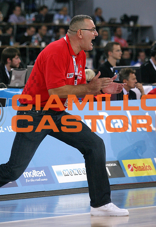 DESCRIZIONE : Bydgoszcz Poland Polonia Eurobasket Men 2009 Qualifying Round Germania Germany Croazia Croatia<br /> GIOCATORE : Jasmin Repesa<br /> SQUADRA : Croazia Croatia<br /> EVENTO : Eurobasket Men 2009<br /> GARA : Germania Germany Croazia Croatia<br /> DATA : 15/09/2009 <br /> CATEGORIA :<br /> SPORT : Pallacanestro <br /> AUTORE : Agenzia Ciamillo-Castoria/A.Vlachos<br /> Galleria : Eurobasket Men 2009 <br /> Fotonotizia : Bydgoszcz Poland Polonia Eurobasket Men 2009 Qualifying Round Germania Germany Croazia Croatia<br /> Predefinita :