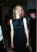 Mena Suvari. Pre Bafta party jointly hosted by Tina Brown and Elizabeth Murdoch. St. Martin's Lane Hotel. 8 April 2000<br />