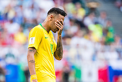 July 2, 2018 - Samara, Russia - 180702 Neymar of Brazil looks dejected during the FIFA World Cup round of 16 match between Brazil and Mexico on July 2, 2018 in Samara..Photo: Petter Arvidson / BILDBYRÃ…N / kod PA / AI180702_53f (Credit Image: © Petter Arvidson/Bildbyran via ZUMA Press)
