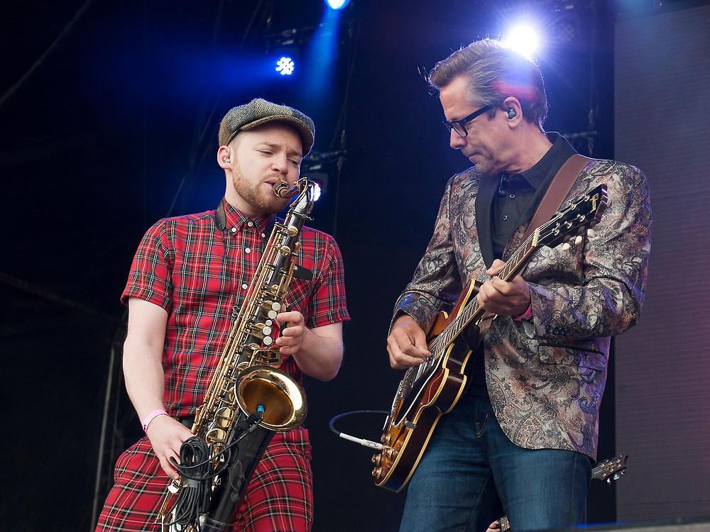 Nick Heyward in concert at Lets Rock Scotland, Dalkeith Country Park, Edinburgh, Great Britain 23rd June 2018