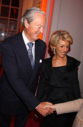 THE DUKE & DUCHESS OF MARLBOROUGH at a 'A Night in Cartier Paradise' to celebrate a new collection of jewellery by Cartier, held at The orangery, Kensington Palace, London W8 on 25th October 2005.<br /><br />NON EXCLUSIVE - WORLD RIGHTS