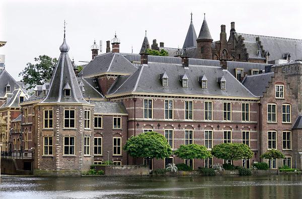 Nederland, the netherlands, Den haag, 17-5-2018Het binnenhof met het torentje, werkkamer van de premier .Foto: Flip Franssen
