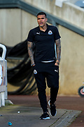 Kenedy (#15) of Newcastle United arrives ahead of the Premier League match between Newcastle United and Everton at St. James's Park, Newcastle, England on 9 March 2019.
