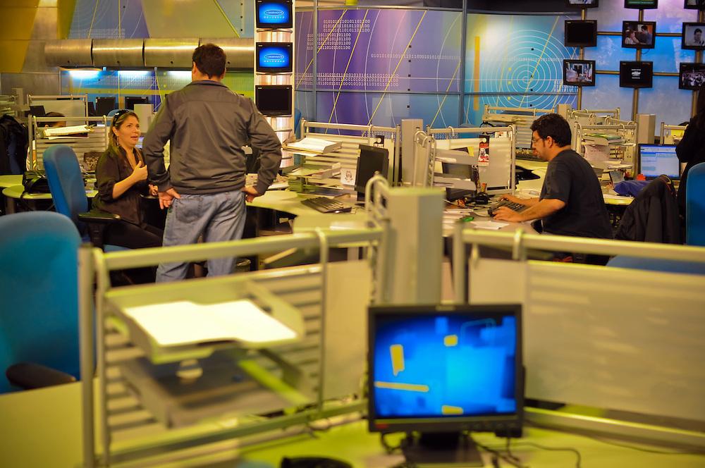 STUDENT PROGRESS - CLOSE RCTV / MARCHA DE ESTUDIANTES - CIERRE RCTV<br /> Photography by Aaron Sosa<br /> Caracas - Venezuela 2010<br /> (Copyright © Aaron Sosa)