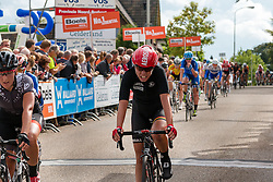 Rider of Lotto Soudal Ladies during the Holland Ladies Tour at the finish, 's-Heerenberg, Gelderland, The Netherlands, 1 September 2015.<br /> Photo: Pim Nijland / PelotonPhotos.com
