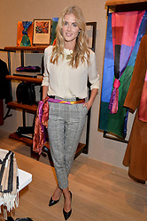 DONNA AIR at a party to celebrate the re-opening of the Jaeger Chelsea Store in association with the NSPCC at 145 Kings Road, London on 24th September 2014.