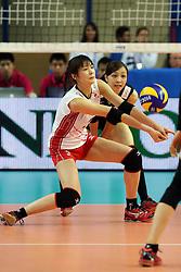 Japan Saori Kimura receives a ball