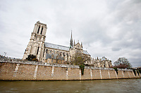 Side View of Notre Dame