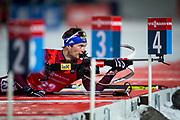 &Ouml;STERSUND, SVERIGE - 2017-12-02: Maxim Tsvetkov under herrarnas sprint t&auml;vling under IBU World Cup Skidskytte p&aring; &Ouml;stersunds Skidstadion den 2 december 2017 i &Ouml;stersund, Sverige.<br /> Foto: Johan Axelsson/Ombrello<br /> ***BETALBILD***
