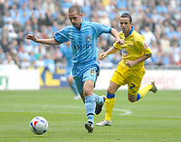 Photo: Ed Godden.<br />Coventry City v Leeds United. Coca Cola Championship. 16/09/2006. Coventry's Michael Doyle (L) is followed by Gary Kelly.