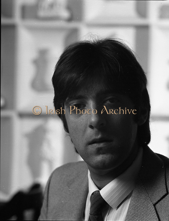 David son of Mr. Mike Butt who is the owner of Golden Orient Restaurant, 27th Leeson Street, Dublin,<br />
