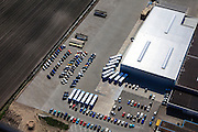 Nederland, Overijssel, Dedemsvaart, 01-05-2013; bedrijventerrein met distributiecentrum.<br /> Business park with distribution facility.<br /> luchtfoto (toeslag op standard tarieven);<br /> aerial photo (additional fee required);<br /> copyright foto/photo Siebe Swart