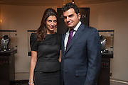 CORINNE AVAKIAN; HAIG AVAKIAN, ( SIBLINGS) The Foreign Sisters lunch sponsored by Avakian in aid of Cancer Research UK. The Dorchester. 15 May 2012
