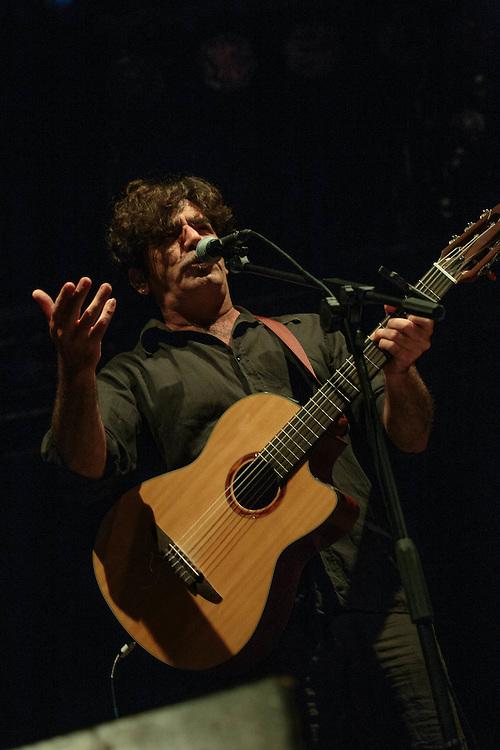 Milano, 17 giugno 2016. Festa di Radio Popolare al Pini. Concerto di Bobo Rondelli.