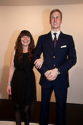 KARLIN ANDERSON; ( MADE THE RING) PRINCE WILLIAM WAXWORK, 'Engagement' exhibition of work by Jennifer Rubell. Stephen Friedman Gallery. London. 7 February 2011. -DO NOT ARCHIVE-© Copyright Photograph by Dafydd Jones. 248 Clapham Rd. London SW9 0PZ. Tel 0207 820 0771. www.dafjones.com.