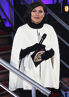 Emma Willis, Celebrity Big Brother - 7th Live Eviction, Elstree Studios, Elstree UK, 02 February 2016, Photo by Brett D. Cove