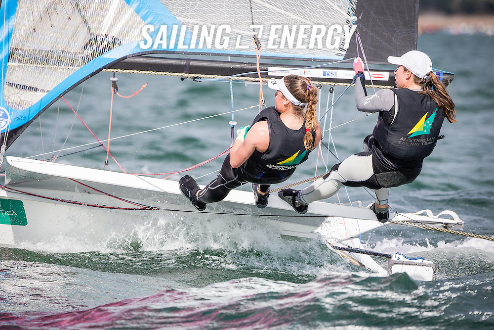 Santander 2014 ISAF Sailing World Championships. First day of racing