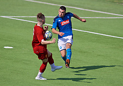NAPLES, ITALY - Tuesday, September 17, 2019: SSC Napoli's Davide Costanzo during the UEFA Youth League Group E match between SSC Napoli and Liverpool FC at Stadio Comunale di Frattamaggiore. (Pic by David Rawcliffe/Propaganda)