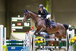 Loenders Lore, BEL, Luna<br /> Nationaal Indoor Kampioenschap Pony's LRV <br /> Oud Heverlee 2019<br /> © Hippo Foto - Dirk Caremans<br /> 09/03/2019