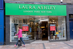 General views of Stirling City centre and shops during the Coronavirus outbreak, 18 March 2020<br /> <br /> Pictured: Laura Ashley is on the brink of administration<br /> <br /> Alex Todd | Edinburgh Elite media
