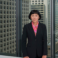 Jeanie Yuen, Managing Director Regional Head of Investment Management &amp; Funds poses at the HSBC headquarters in Hong Kong on the 18th March, 2014. Photo by Victor Fraile / studioEAST<br /> Lighting &amp; Post production by Mike Pickles / studioEAST