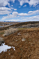 Eastern overlook of the wetlands in Arapaho National Wildlife Refuge. Image six of seven taken with a Nikon D3 camera and 14-24 mm f/2.8 lens (ISO 200, 23 mm, f/16, 1/200 sec). Panorama composed using Auto Pano Giga Pro.