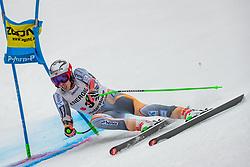 01.03.2020, Hannes Trinkl Weltcupstrecke, Hinterstoder, AUT, FIS Weltcup Ski Alpin, Alpine Kombination, Herren, Super G, im Bild Henrik Kristoffersen (NOR) // Henrik Kristoffersen of Norway in action during his SuperG run of men's Alpine combined of FIS ski alpine world cup at the Hannes Trinkl Weltcupstrecke in Hinterstoder, Austria on 2020/03/01. EXPA Pictures © 2020, PhotoCredit: EXPA/ Johann Groder