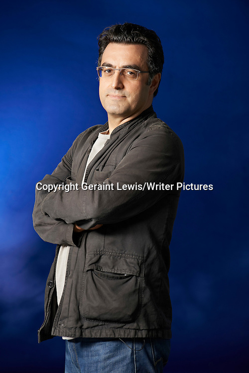 Maziar Bahari, writer of Then They Came For Me at The Edinburgh International Book Festival 2012. Taken 18th August 2012<br /> <br /> Credit Geraint Lewis/Writer Pictures