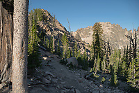 Baron Divide Trail Sawtooth Mountains Idaho