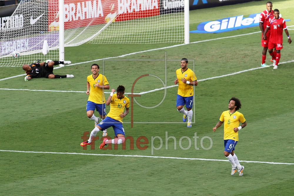 Brasil x Panamá - Amistoso - 03/06/2014 FOTO MARCELO D'SANTS/FRAME