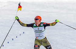 24.02.2017, Lahti, FIN, FIS Weltmeisterschaften Ski Nordisch, Lahti 2017, Nordische Kombination, Langlauf, im Bild Goldmedaillen Gewinner Johannes Rydzek (GER) jubelt // Gold Medalist Johannes Rydzek of Germany celebrate during Cross Country of Nordic Combined competition of FIS Nordic Ski World Championships 2017. Lahti, Finland on 2017/02/24. EXPA Pictures © 2017, PhotoCredit: EXPA/ JFK