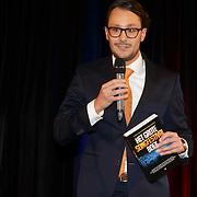 NLD/Amsterdam/20150324 -  boekpresentatie Het Grote Songfestival boek, Dave Boomkens