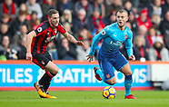 AFC Bournemouth v Arsenal - 14 January 2018
