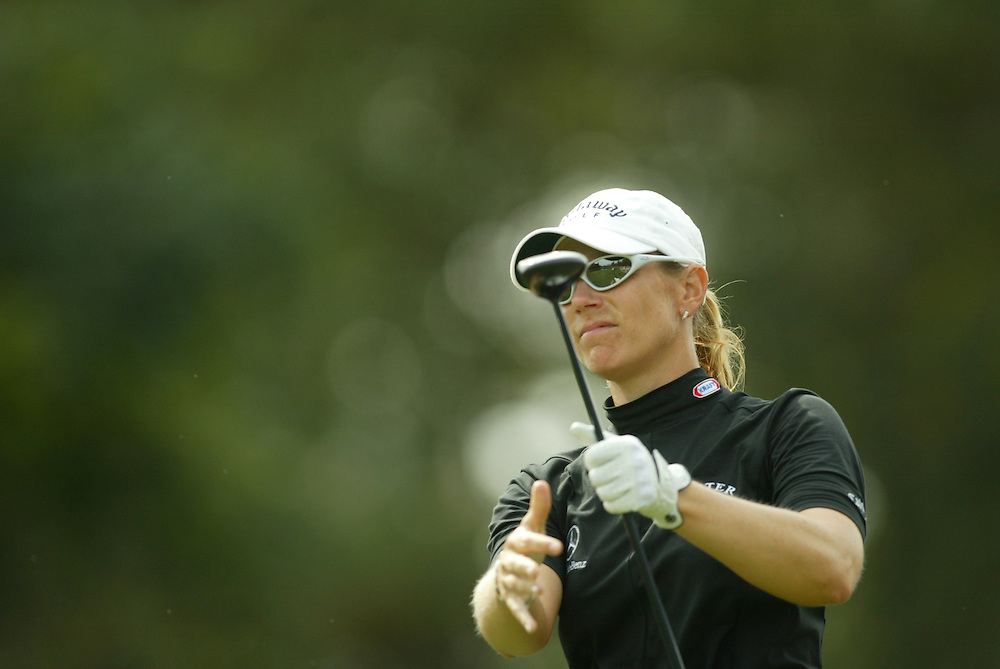 Annika Sorenstam..2003 Samsung World Championships..TPC at the Woodlands..The Woodlands, TX..Sunday, October 12 2003..photograph by Darren Carroll
