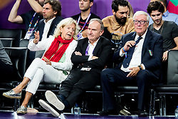 Giovanni Petrucci, chairman of the Italian basketball federation during basketball match between National Teams of Italy and Serbia at Day 14 in Round of 16 of the FIBA EuroBasket 2017 at Sinan Erdem Dome in Istanbul, Turkey on September 13, 2017. Photo by Vid Ponikvar / Sportida
