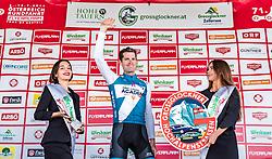 10.07.2019, Fuscher Törl, AUT, Ö-Tour, Österreich Radrundfahrt, Siegerehrung der 4. Etappe, von Radstadt nach Fuscher Törl (103,5 km), im Bild Etappensieger und Glocknerkönig Ben Hermans (Israel Cycling Academy, BEL) // during winner ceremony for the 4th stage from Radstadt to Fuscher Törl (103,5 km) of the 2019 Tour of Austria. Fuscher Törl, Austria on 2019/07/10. EXPA Pictures © 2019, PhotoCredit: EXPA/ JFK