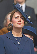 KATE Joins Royals At Commemoration Service, London2