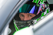 Sam OSBORNE (GBR) Excelr8 Motorsport looks out from his cockpit, as he sits on the grid before Round 23 of the Kwik Fit British Touring Car Championship at Knockhill Racing Circuit, Dunfermline, Scotland on 15 September 2019.