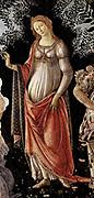 Sandro Botticelli La Primavera (Spring). (Detail). 1481-1482