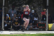 Aoife Martin (1660) of Washington State competes in the women's hammer throw during the NCAA West Track & Field Preliminary, Thursday, May 23, 2019, in Sacramento, Calif.