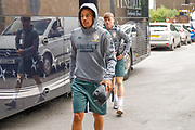 Leeds United midfielder Helder Costa arrives during the Pre-Season Friendly match between Tadcaster Albion and Leeds United at i2i Stadium, Tadcaster, United Kingdom on 17 July 2019.